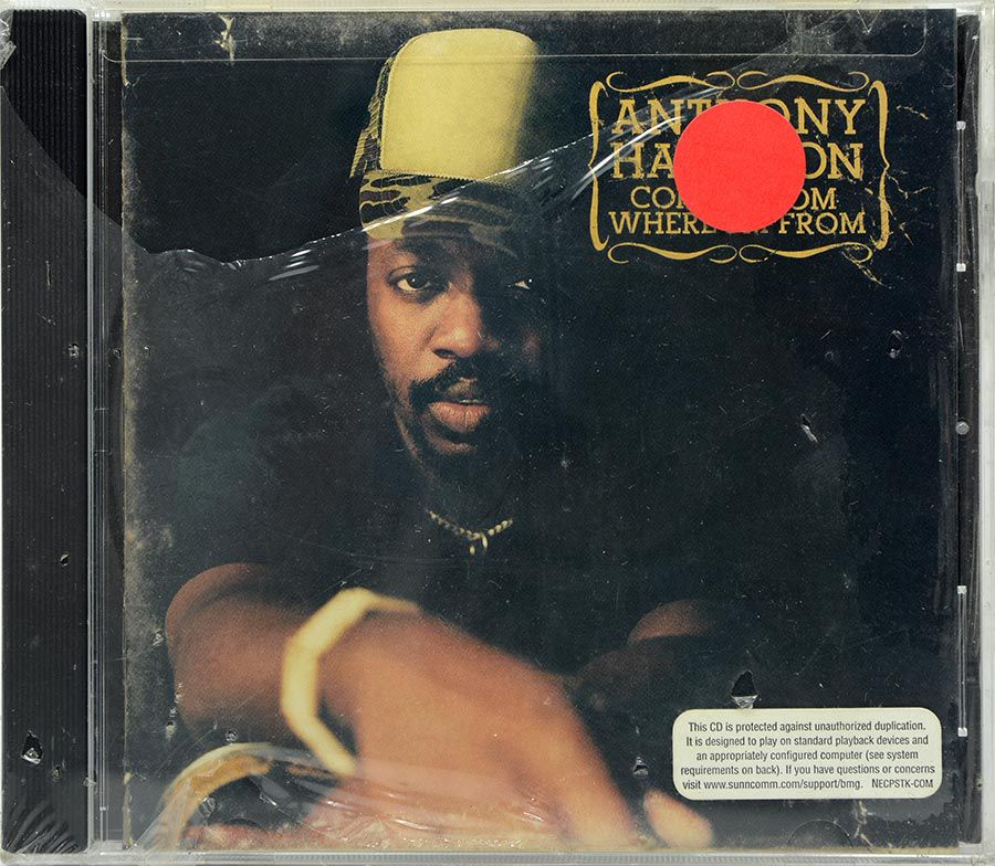 CD Anthony Hamilton - Comin From Where I'm From - Lacrado - Importado