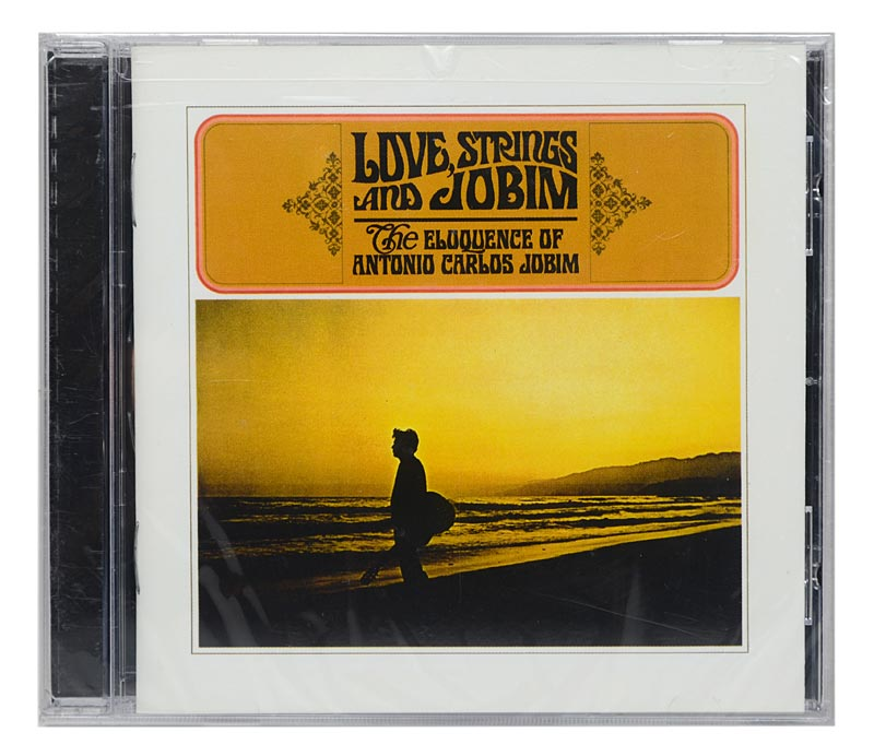 CD Antonio Carlos Jobim - Love, Strings and Jobim - Importado - Lacrado