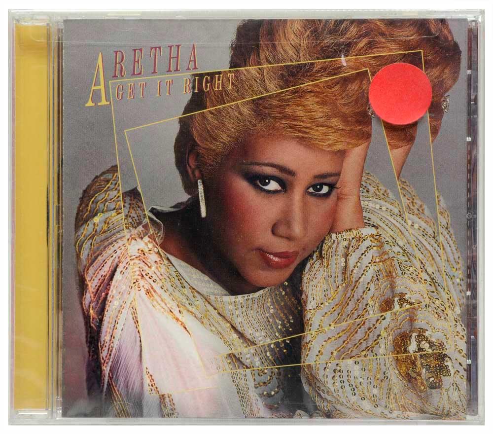 CD Aretha Franklin - Get it Right - Lacrado - Importado