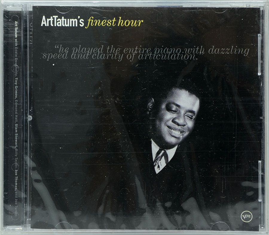 CD Art Tatum's Finest Hour - Lacrado - Importado
