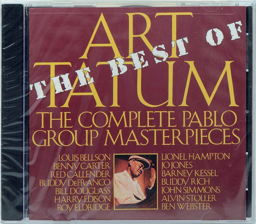 CD Art Tatum - The Best Of The Pablo Group Masterpieces - Lacrado - Importado