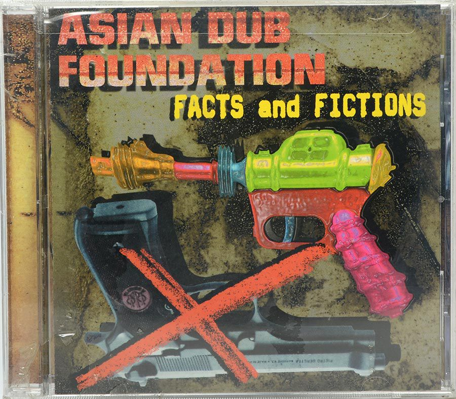 CD Asian Dub Foundation - Facts And Fictions - Lacrado - Importado