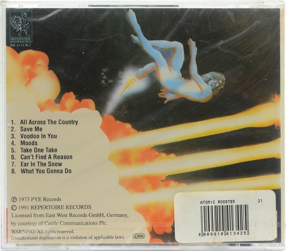 CD Atomic Rooster - Nice n Greasy - Importado - Lacrado