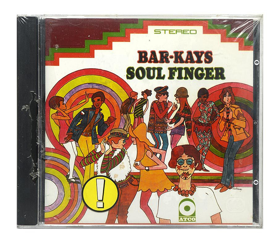 Cd Bar-Kays - Soul Finger - Importado - Lacrado