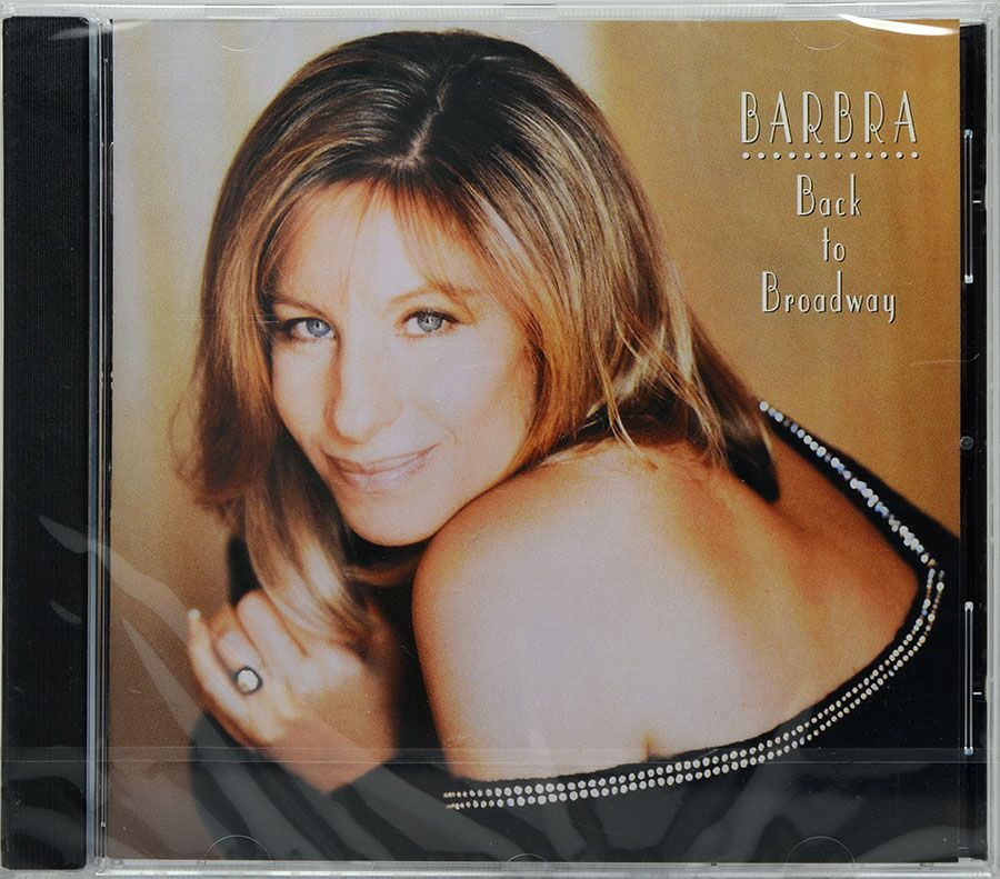 CD Barbra Streisand - Back To Broadway - Lacrado - Importado