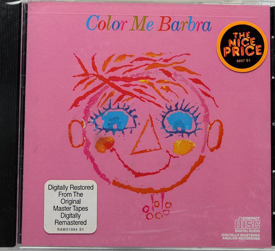 CD Barbra Streisand - Color Me Barbra - Lacrado - Importado