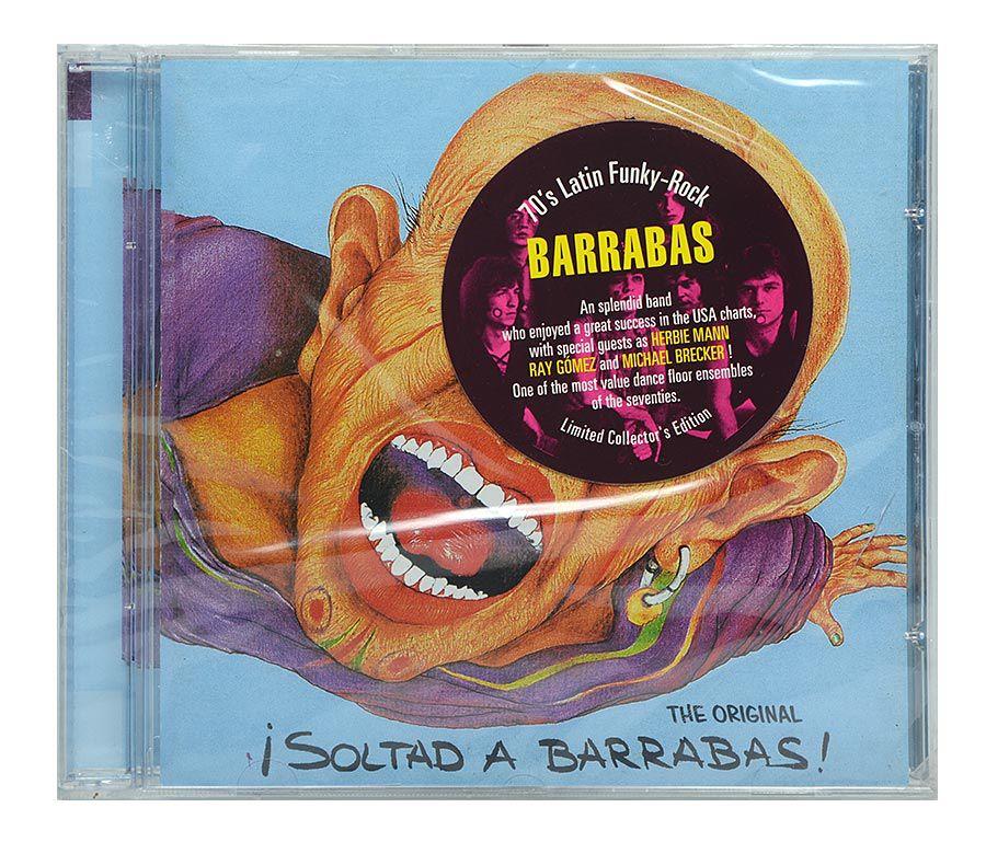 Cd Barrabas - Soltad A Barrabas - Importado - Lacrado