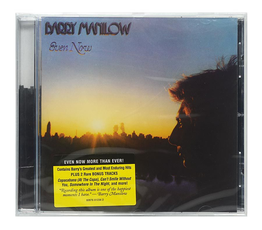 CD Barry Manilow - Even Now - Importado - Lacrado