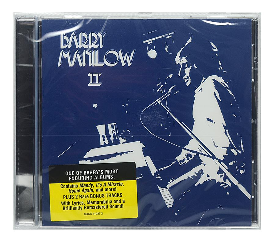 CD Barry Manilow - II - Importado - Lacrado