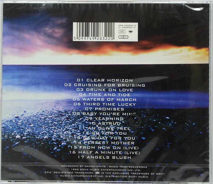 Cd Basia - Clear Horizon - The Best Of Basia - Lacrado - Importado