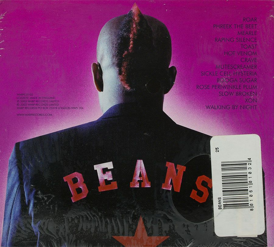 CD Beans - Tomorrow Right Now - Lacrado - Importado