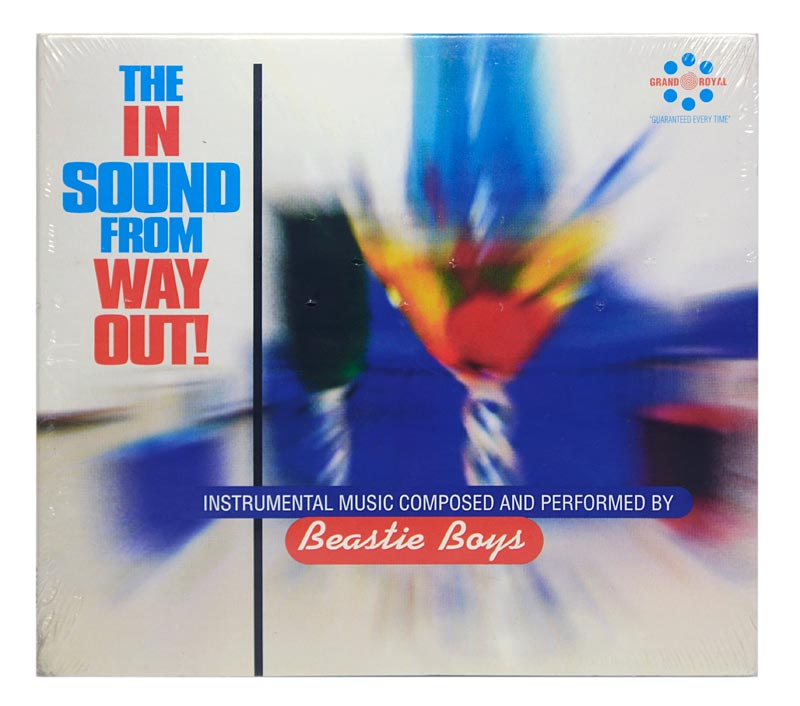 CD Beastie Boys - The In Sound From Way Out - Digipack - Importado - Lacrado