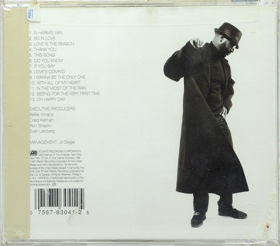 CD Bebe Winans - Bebe Winans - Lacrado - Importado