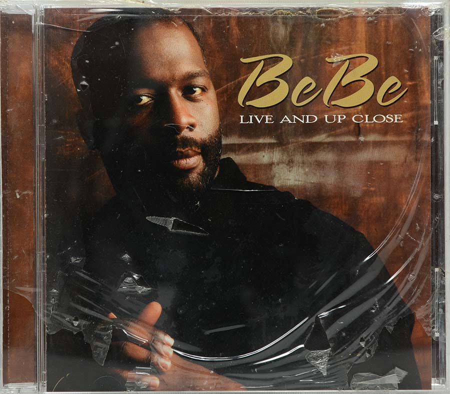 Cd Bebe Winans - Live And Up Close - Lacrado - Importado