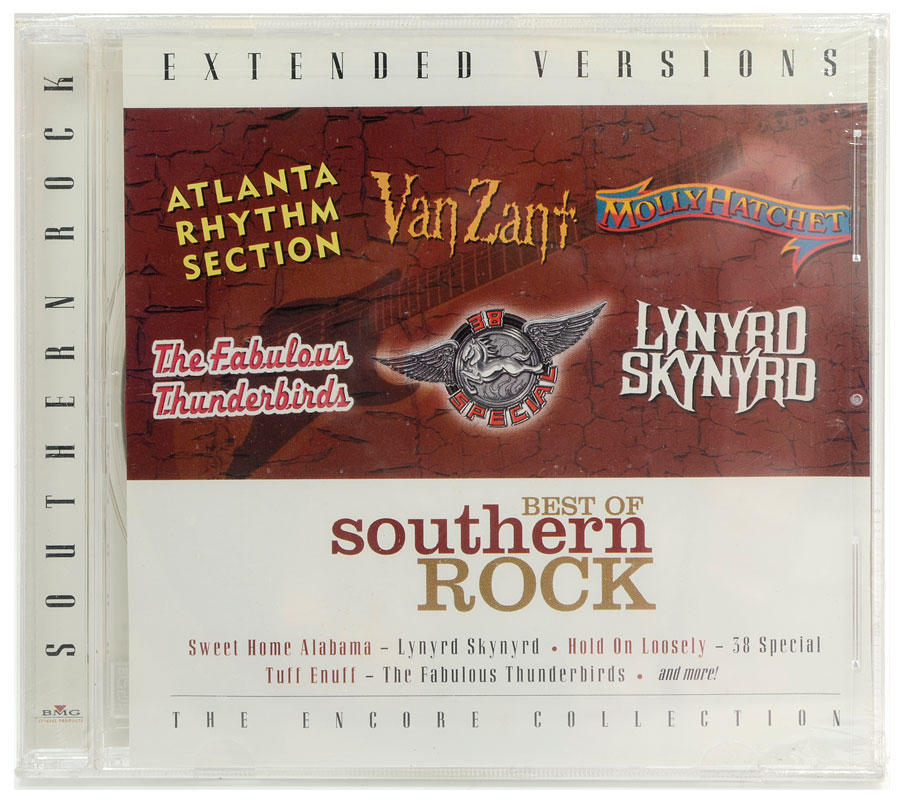 CD Best Of Southern Rock - Extender Versions - Importado - Lacrado