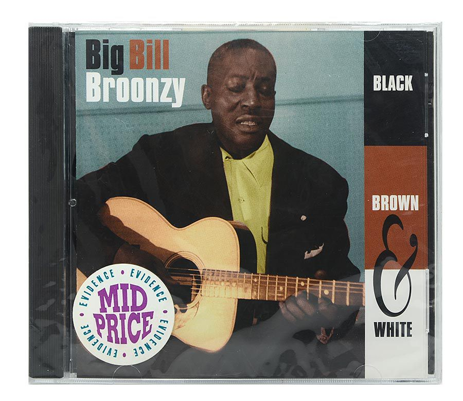 Cd Big Bill Broonzy - Black, Brown & White - Importado - Lacrado