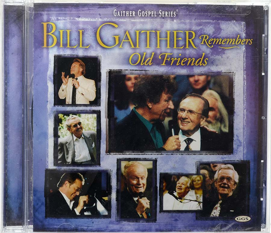 Cd Bill Gaither Remembers Old Friends - Lacrado - Importado