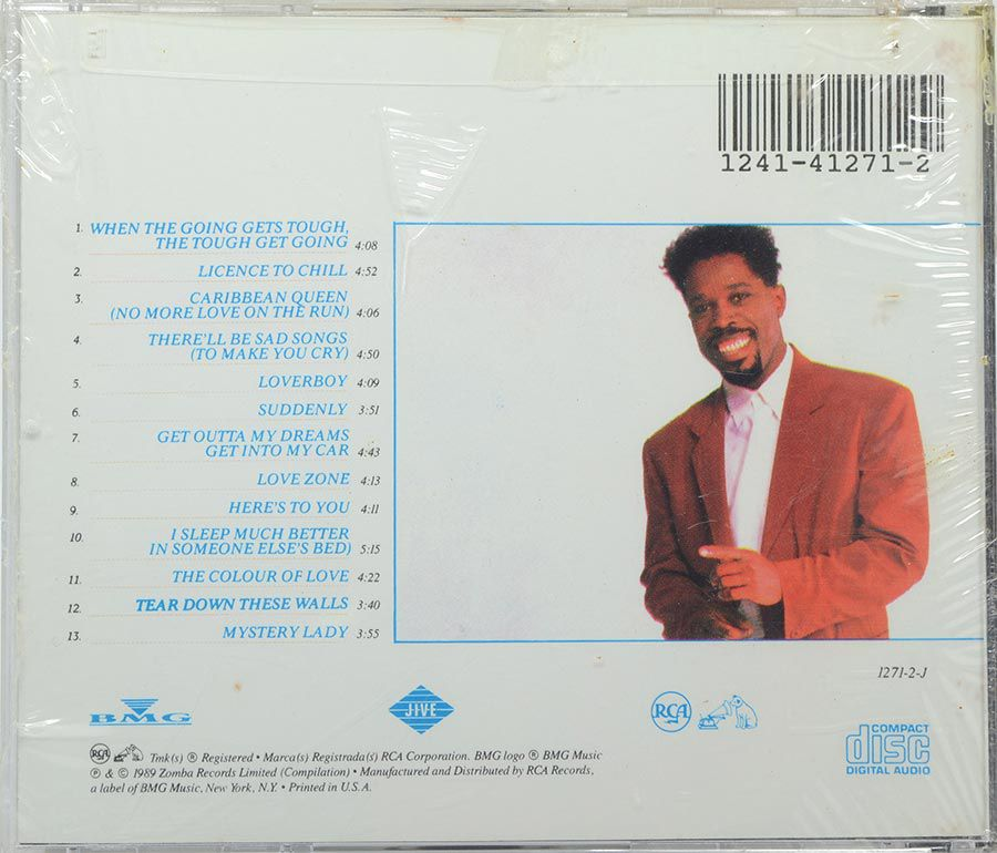 CD Billy Ocean - Greatest Hits - Lacrado - Importado