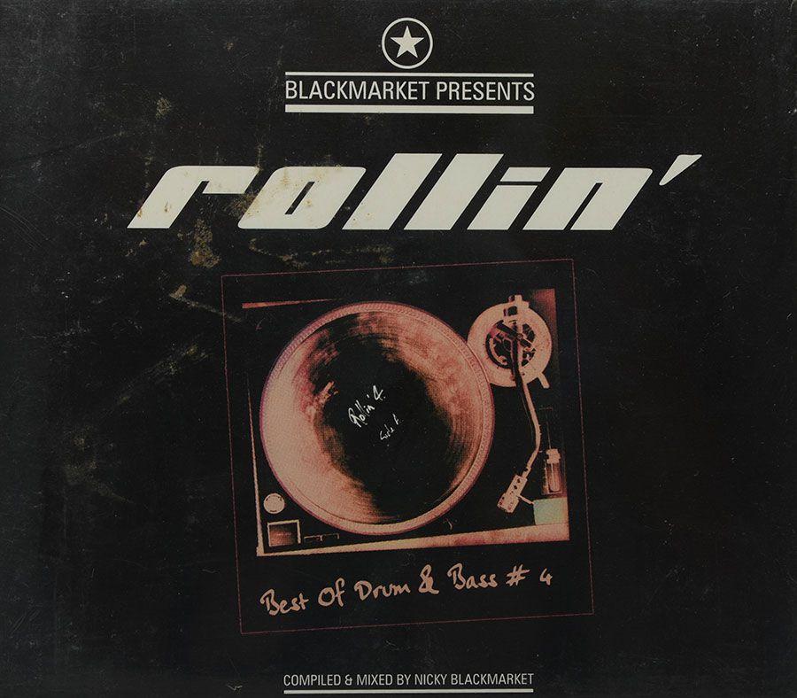 Cd Blackmarket Presents - Rollin - Nicky Blackmarket - Lacrado - Importado