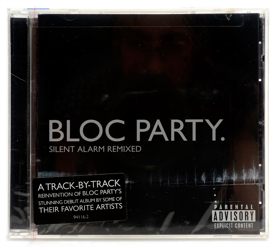 CD Bloc Party - Silent Alarm Remixed - Importado - Lacrado