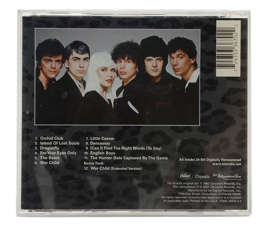 CD Blondie - The Hunter - Remastered - Importado - Lacrado