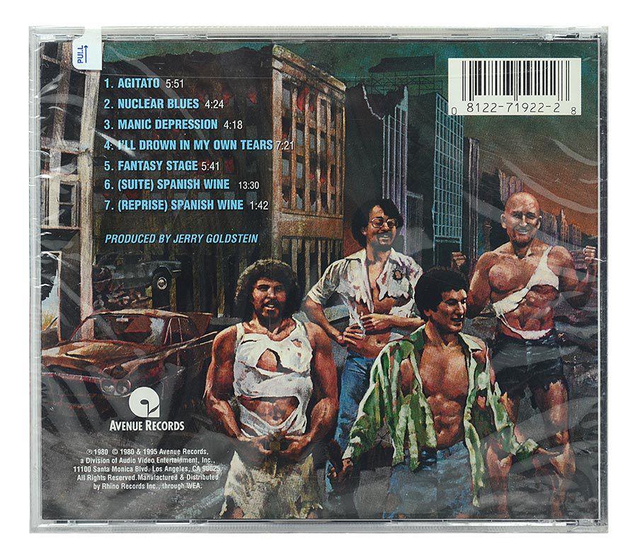 CD Blood Sweat & Tears - Nuclear Blues - Importado - Lacrado