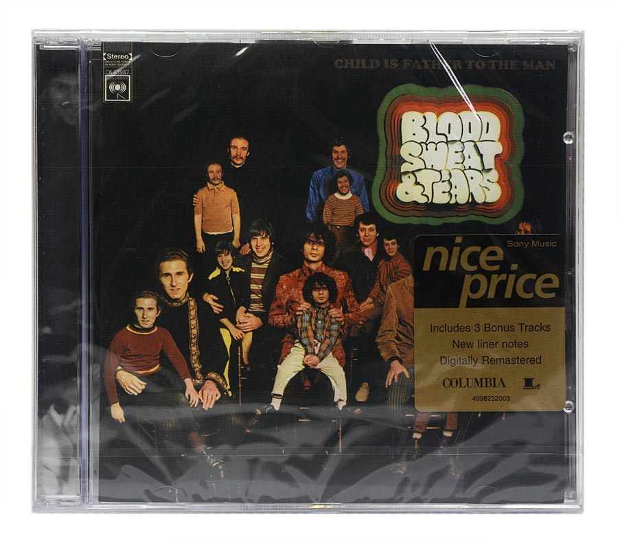 CD Blood Sweat & Tears - Child Is Father To The Man - Importado - Lacrado