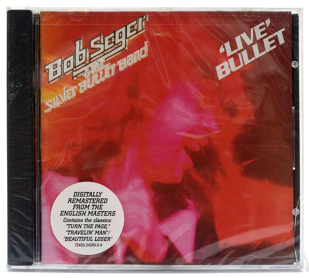 CD Bob Seger & The Silver Bullet Band - Live Bullet - Importado - Lacrado