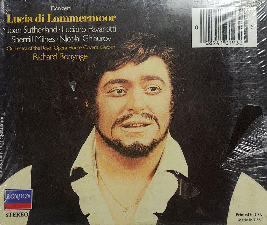 Cd Box Donizetti - Lucia di Lammermoor - Lacrado - Importado