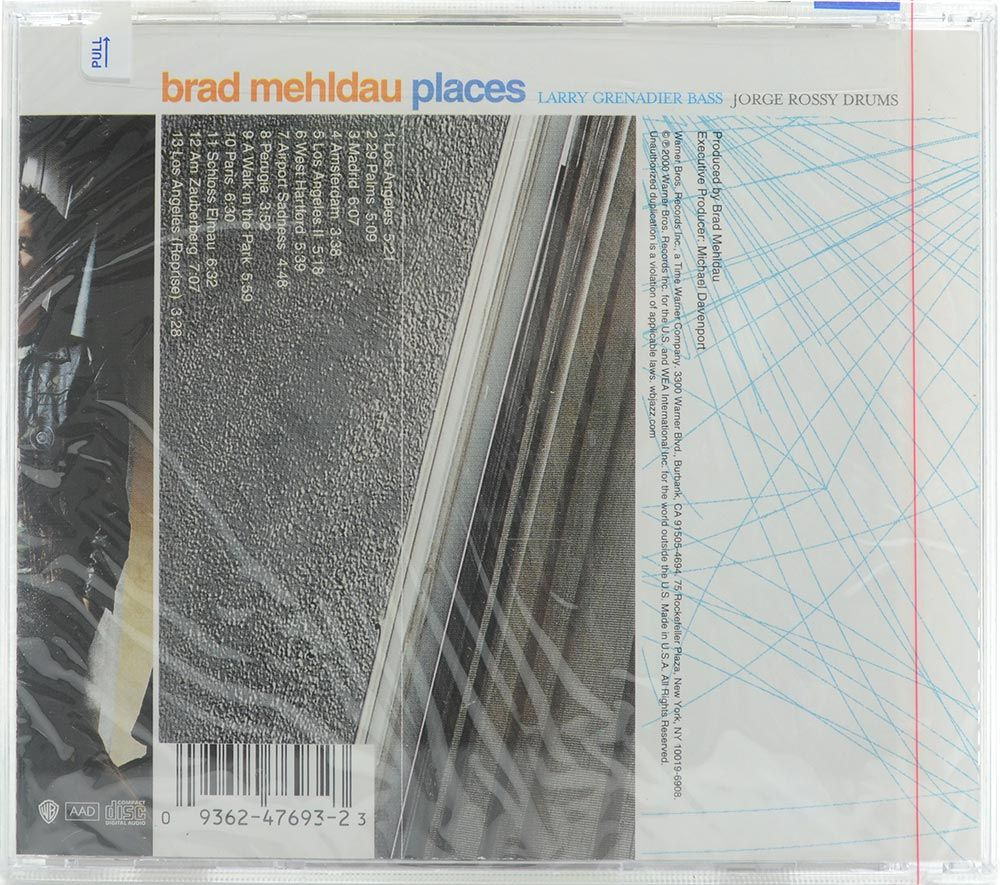 CD Brad Mehldau - Places - Importado - Lacrado