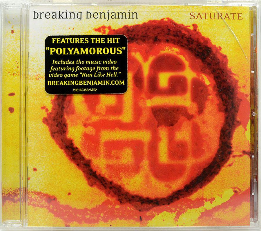 CD Breaking Benjamin - Saturate - Lacrado - Importado
