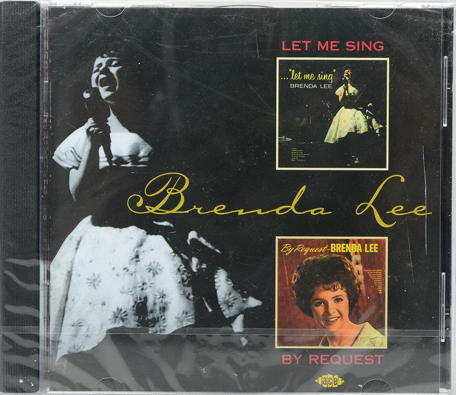 Cd Brenda Lee - Let Me Sing - By Request - Lacrado - Importado