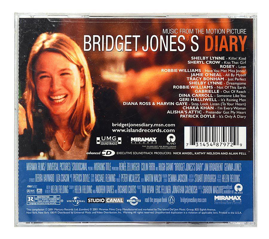 CD Bridget Jones Diary - Original Soundtrack - Importado - Lacrado