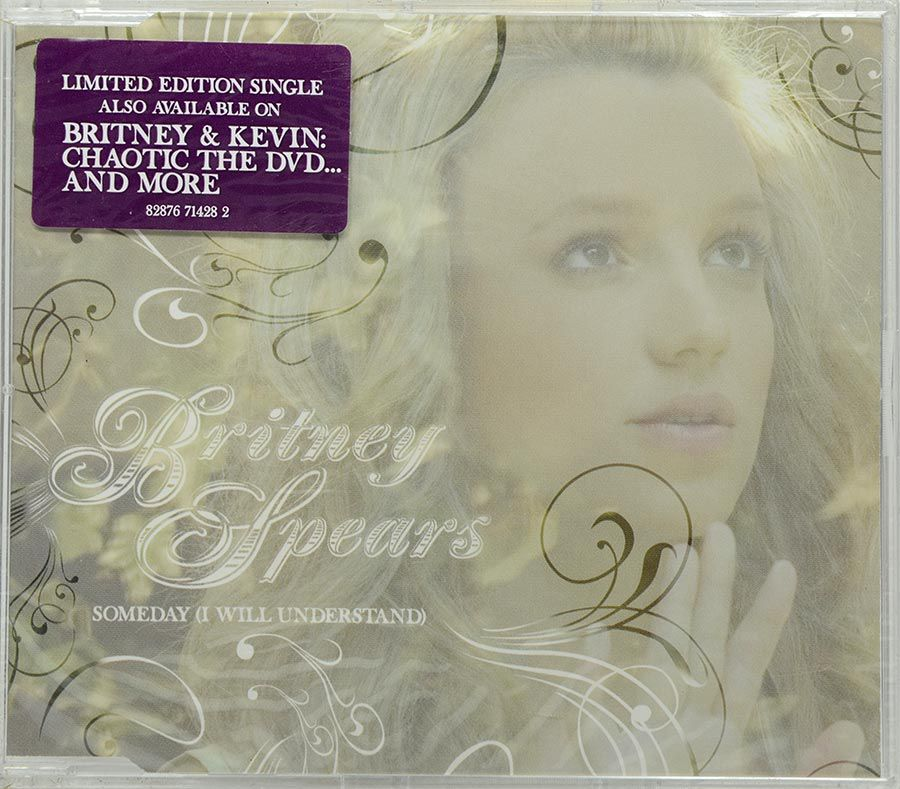 CD Britney Spears - Someday (I Will Understand) - Lacrado - Importado