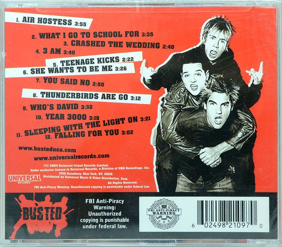 CD Busted - Busted - Lacrado - Importado