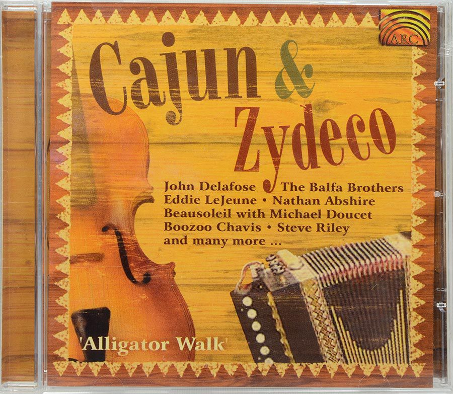 CD Cajun & Zydeco - Alligator Walk - Lacrado - Importado