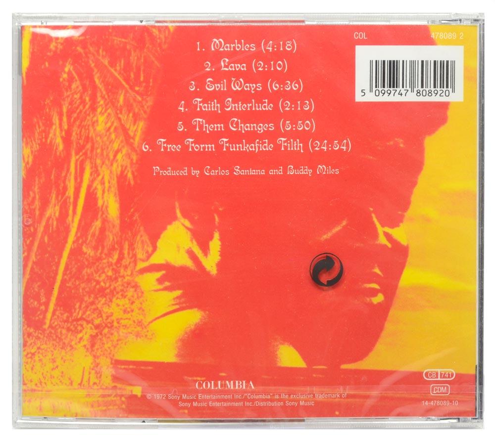 CD Carlos Santana & Buddy Miles! Live! - Importado - Lacrado