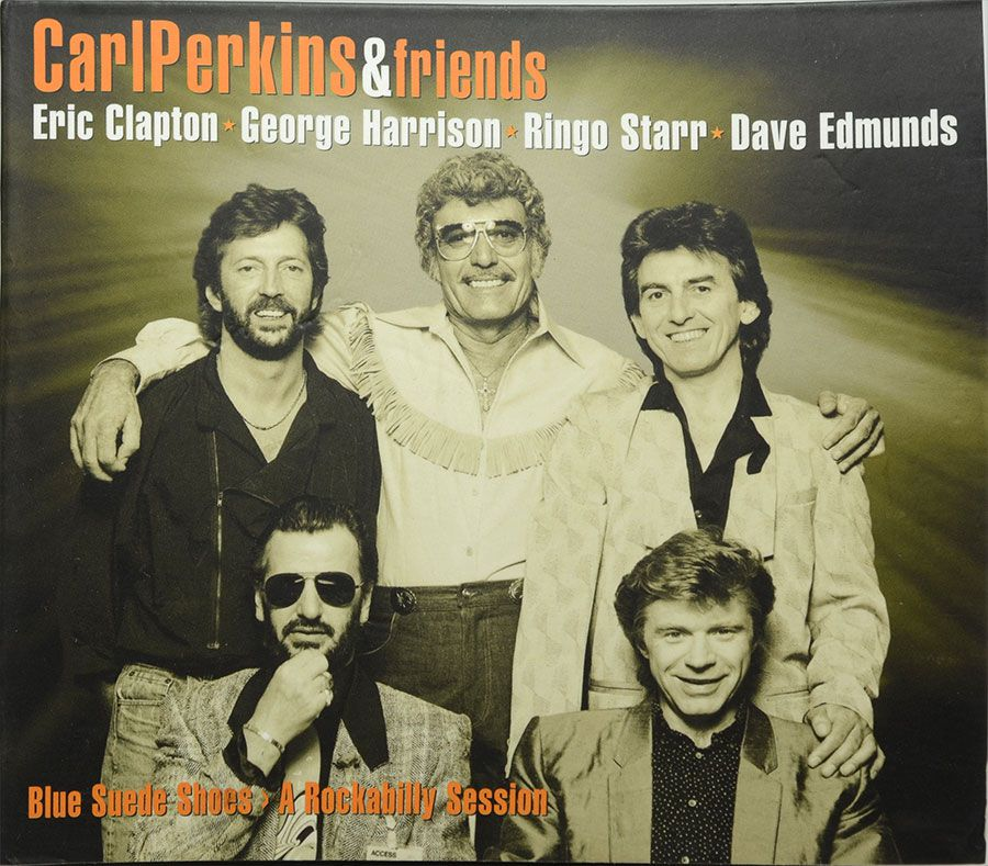 CD CarlPerkins & Friends - Eric Clapton George Harrison Ringo Starr Dave Edmunds - Lacrado - Importado