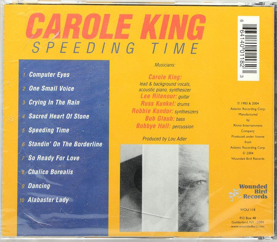 CD Carole King - Speeding Time - Lacrado - Importado