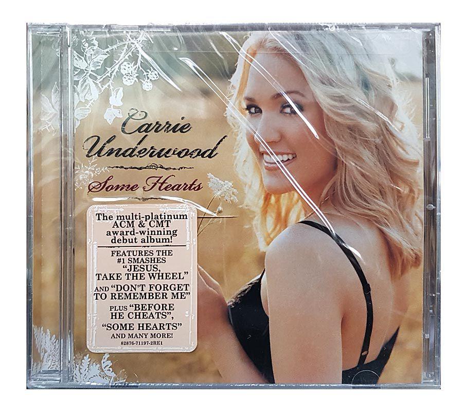 CD Carrie Underwood - Some Hearts - Importado - Lacrado