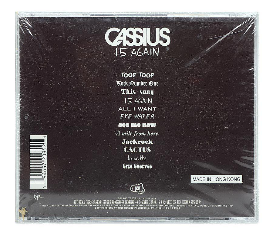 CD Cassius - 15 Again - Importado - Lacrado