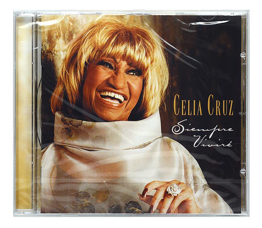 CD Celia Cruz - Siempre Viviré - Importado - Lacrado