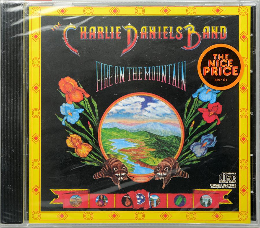CD Charlie Daniels Band - Fire On The Mountain - Lacrado - Importado