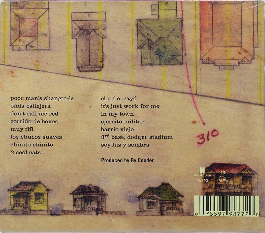 CD Chávez Ravine - A Record By Ry Cooder - Lacrado - Importado