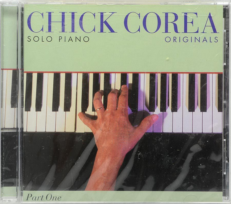 CD Chick Corea - Solo Piano Originals - Lacrado - Importado