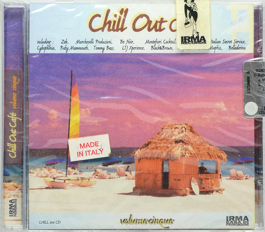 CD Chill Out Café - Volume Cinque - Italia - Lacrado - Importado
