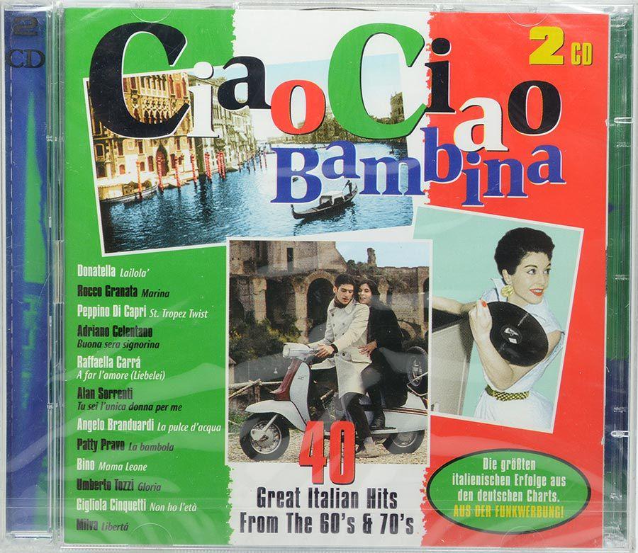 Cd Ciao Ciao Bambina - 40 Great Italian Hits - Lacrado - Importado