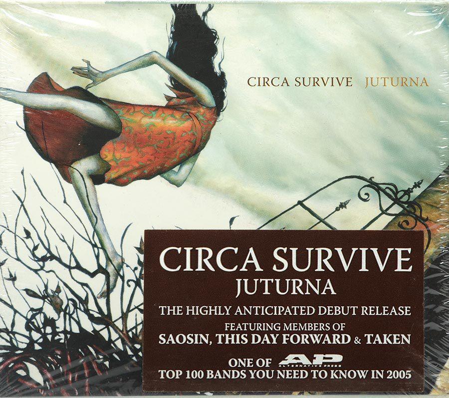 Cd Circa Survive - Juturna - Lacrado - Importado