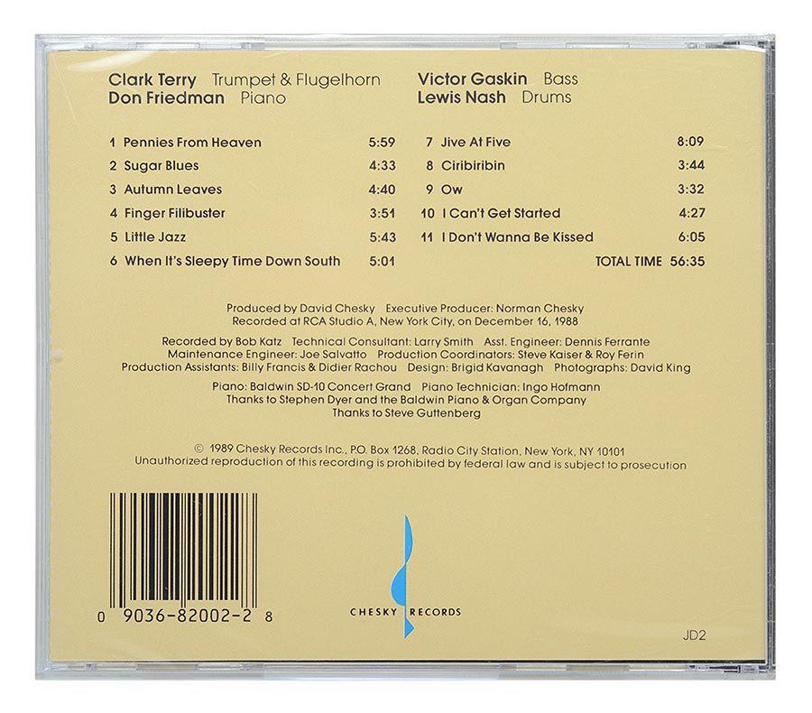 CD Clark Terry - Portraits - Importado - Lacrado