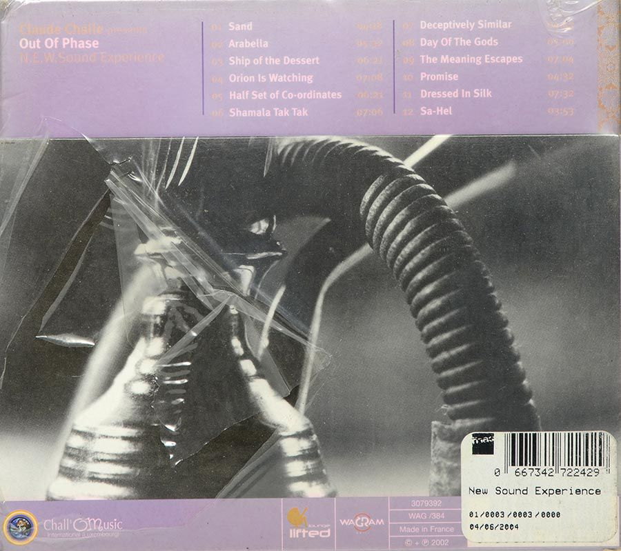 Cd Claude Challe Presents Out Of Phase N.E.W Sound Experience - Lacrado - Importado